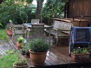 Teakholz Gartenstuhl 4 Stück