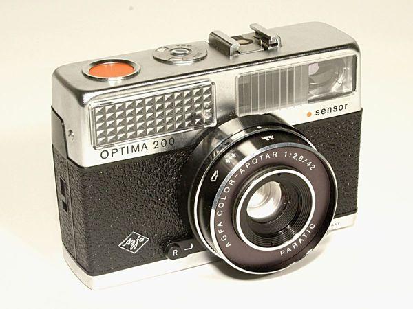 Agfa Optima 200, Kamera, analog