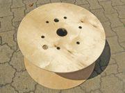 Holz Kabeltrommel Kabelrolle 63cm Ø