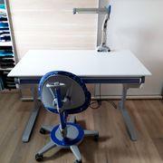 Moll Schreibtisch Schublade Schreibtischstuhl Lampe