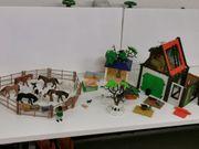 Playmobil Bauernhof inkl Figuren und