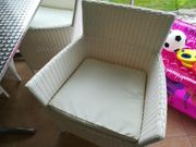 Stühle für Garten Wintergarten Rattan-Imitat