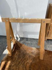 Sattelhalter aus Holz stabil