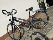 Herren Damen City Trekking Fahrrad