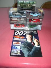 Modellautos James bond 007 mit