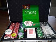 Pokerkoffer vollständig erhalten mit Anleitung