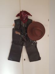 Cowboy Sheriff Faschingskostüm Grösse 140