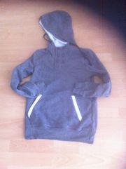 Sweatshirt Grau ohne Aufdruck - mit