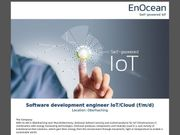 Software development engineer IoT Cloud