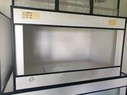 Weißes Kunststoff Terrarium 100x60x60 zb