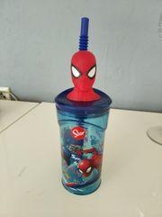Stor Trinkbecher Spiderman rot 360ml