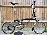 BROMPTON M6L-X TITANIUM schwarz Faltrad