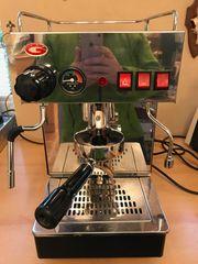 Espressomaschine Siebträgermaschine Zweikreiser Edelstahl