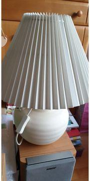 2x weiße Lampen von Ikea