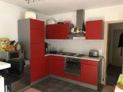 Küche in rot
