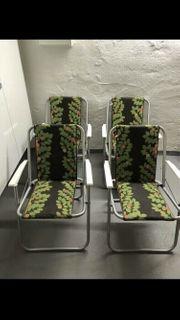 4x Gartenstühle Neuwertig