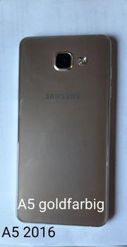 Samsung Galaxy A5 2016 goldfarbig