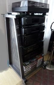 Kenwood HiFi Stereoanlage Musik-Turm komplett