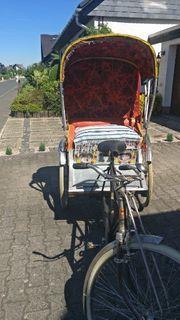 Original Rikscha aus Indien