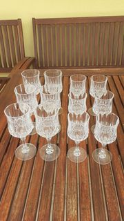 6 Stück Bleikristall Gläser 16