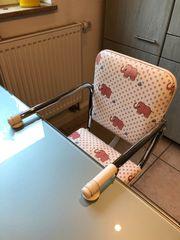Baby-Tischsitz -Klemmhochstuhl