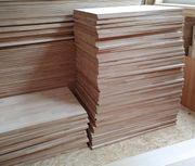 Holzplatten Kernbuche massiv 87x46cm Restposten