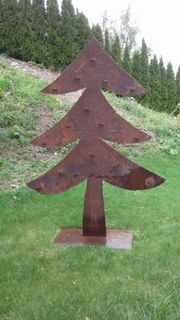 Deko Metall Christbaum