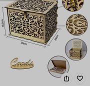 Box für Geschenkkarten