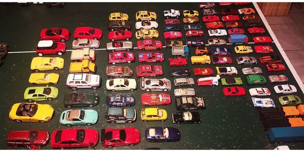 Modell Autos 4 - 6 cm