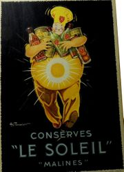 Vintage Werbeplakat Frankreich