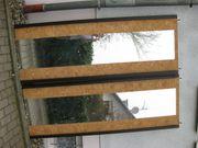 2 Stück Spiegel auf Schranktüren
