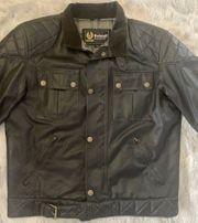 Original BELSTAFF Biker Jacke schwarz
