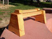 Stützhanteln - Parallettes - massiv Holz