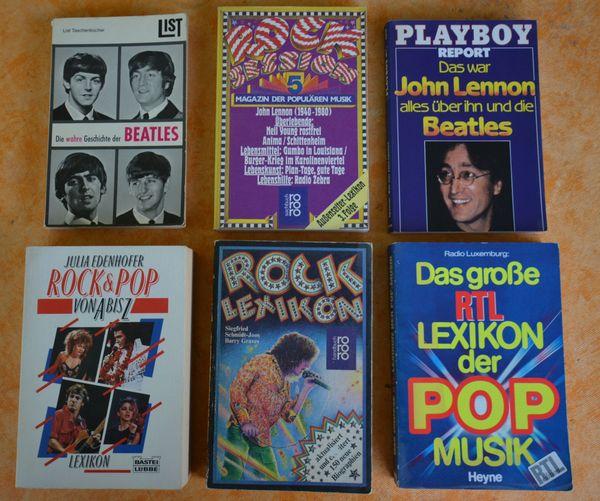 10 ROCK POP - Lexikons Musikbücher