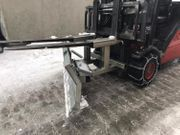 Gabelstapler Aufsatz Schneeschieber Schneepflug