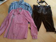 Trachtenlederhose und Hemden
