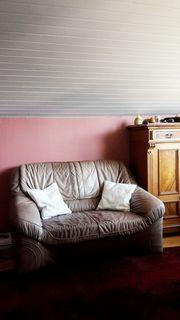 LEDER- Sofa zu verschenken
