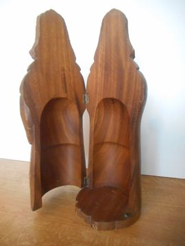 seltene alte Holzfigur Unikat Vollholz: Kleinanzeigen aus Neustadt Lachen-Speyerdorf - Rubrik Sonstige Antiquitäten