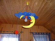 Babyzimmerlampe Kinderzimmerlampe HOLZ in TOPZUSTAND