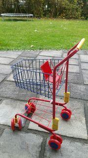 Einkaufswagen für Kaufladen