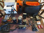Sony Alpha 6000 Systemkamera Komplettpaket