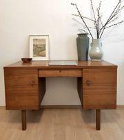 Schreibtisch Tisch Schubladen VINTAGE RETRO