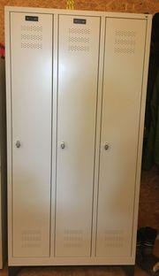 Garderobenschrank Spind - kaum benutzt günstig