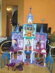 Eiskönigin Schloss Elsa und Anna