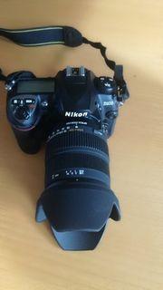 Nikon D200 mit Sigma Zoom