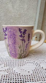 Mediterrane Pflanzentasse Lavendel