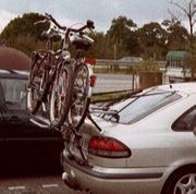 Heck-Fahrrad-Träger