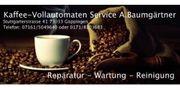 Reparatur-Wartung-Service Kaffeevollautomaten Jura WMF Saeco