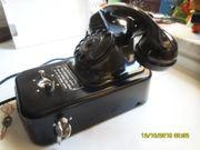 Telefon Münzer Post mit Wählscheibe