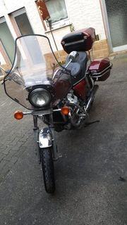 Motorrad der Marke Honda